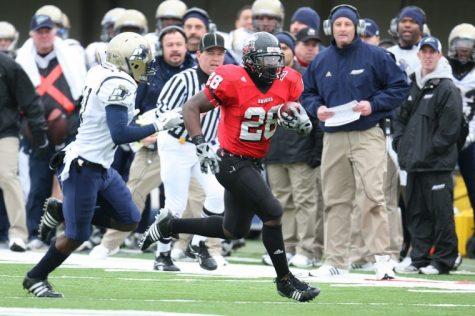 NIU running back Chad Spann ran for 125 yards and two touchdowns against Akron last season.