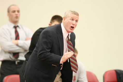 Dave Grant is entering his final year as NIU wrestling head coach. He has been leading the Huskies since 1996.