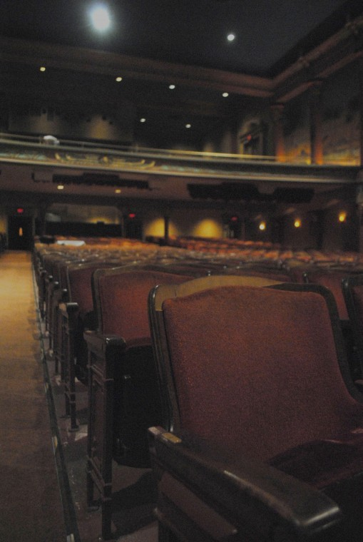 The+Egyptian+Theater%2C+135+N.+Second+St.%2C+is+holding+a+fundraiser+to+replace+the+current+seats+at+the+theater%2C+which+are+over+80+years+old.+The+current+seats+have+old+and+malfunctioning+mechanics+to+go+along+with+a+less+than+ideal+comfort+level+for+patrons.