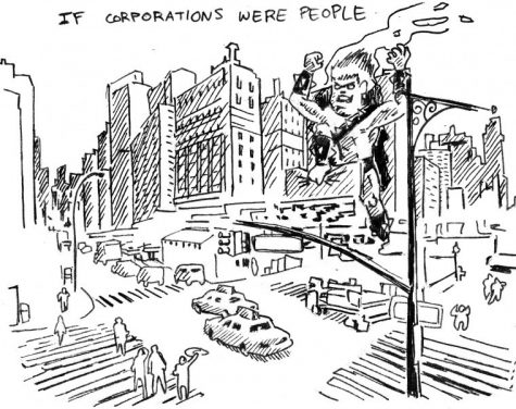 Corporations should not be treated as individuals