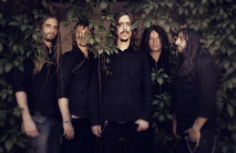 (From left) Martin Axenrot (drums), Joakim Svalberg (keys), Mikael Akerfeldt (vocals), Fredrik Akesson (guitar) and Martin Mendez (bass) make up Swedish progressive metal band, Opeth. Heritage, the band's tenth studio album was released Sept. 14 on Roadrunner Records.