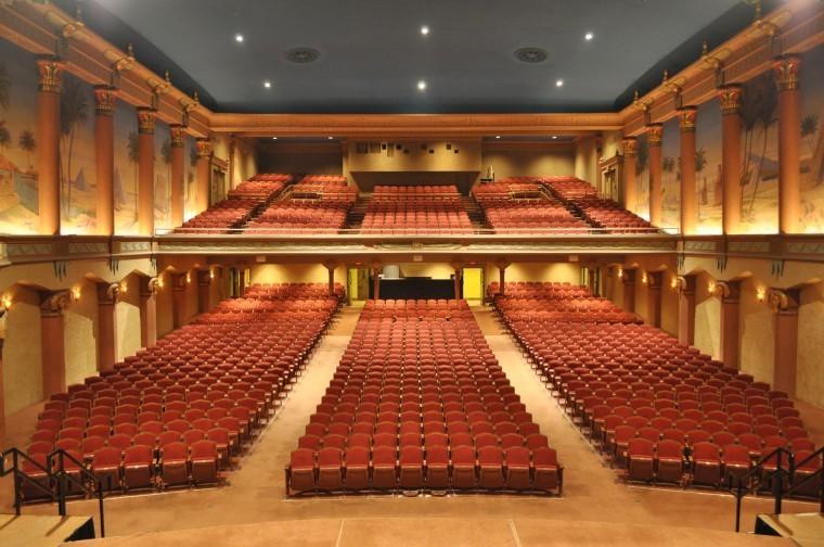 Empty Egyptian Theatre