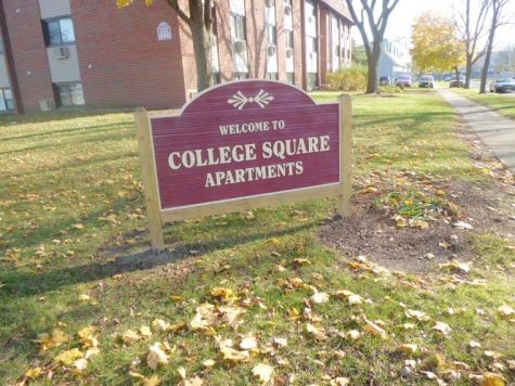 Jen Knobloch | Northern Star College Square residents were given eviction notices last week so the building could be renovated.