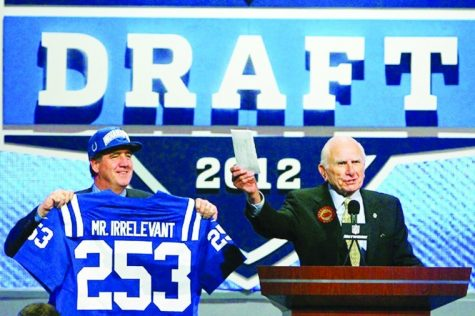 Better late than never: Harnish drafted as Mr. Irrelevant