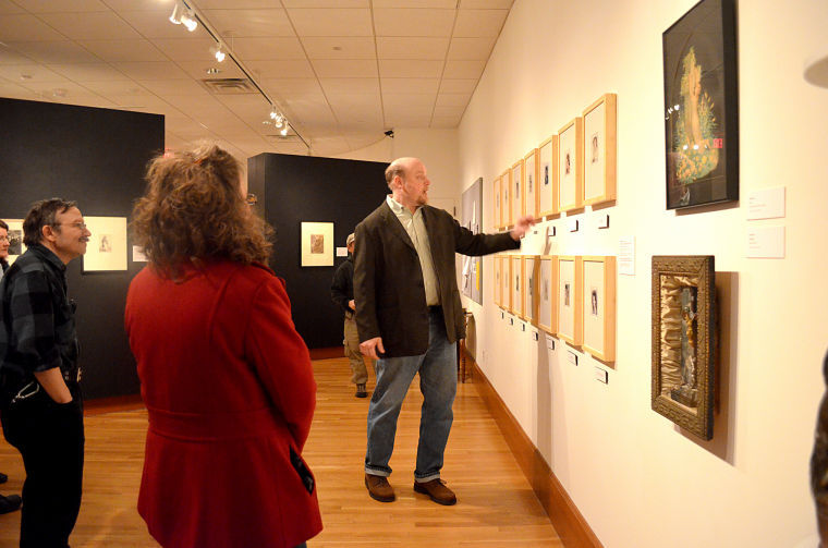 NIU Art Museum hosts discussion for Vice and Virtue exhibit