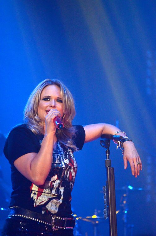Miranda Lambert performs at the Convocation Center on Thursday night.