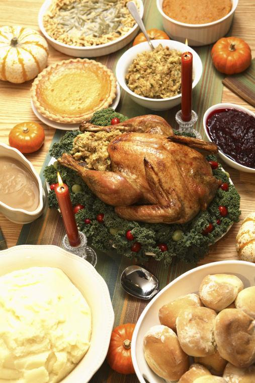Dive into holiday feast without overindulging