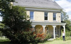 The Oderkirk House, 253 N. Annie Glidden Road, is more than 100 years old and used to be the home of members of the Glidden family. NIU leases the property and a local group is fighting for the university to repair the home.