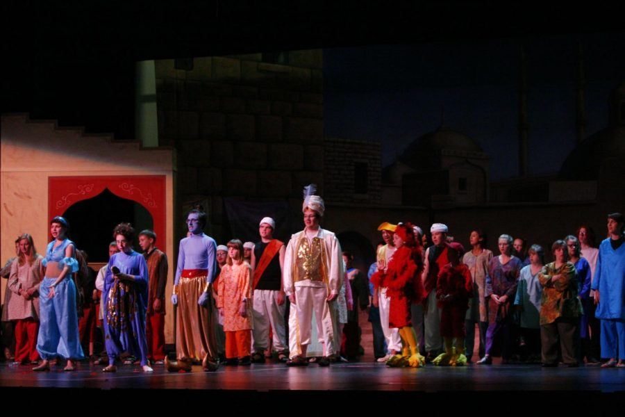 Students with disabilites move audience to tears in 'Aladdin'
