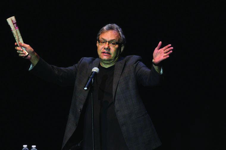 Comedian Lewis Black is known for his angry attitude in performances, which includes ranting and swearing. Black will perform The Rant is Due: Part Deux 8 p.m. today at The Egyptian Theatre, 135 N. Second St.