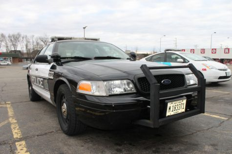 A DeKalb police cruiser.