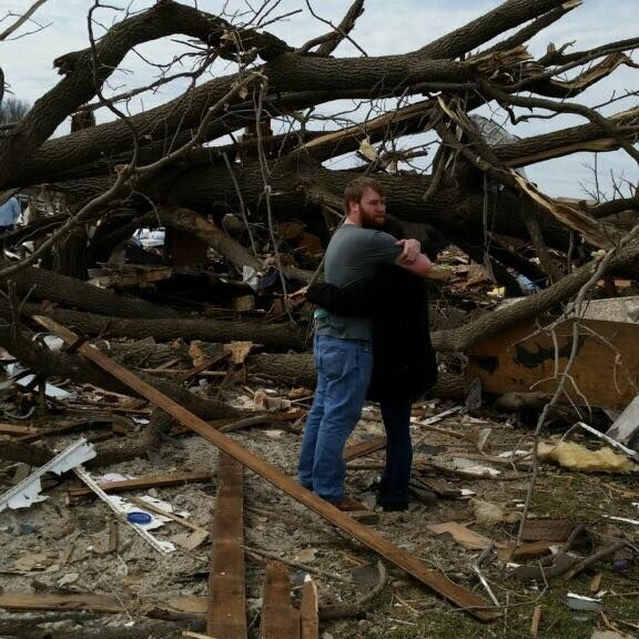 Student survives tornado that killed 2 in Fairdale