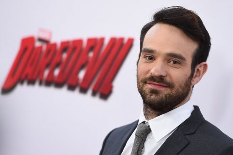 Actor Charlie Cox smiles at the L.A. premier of