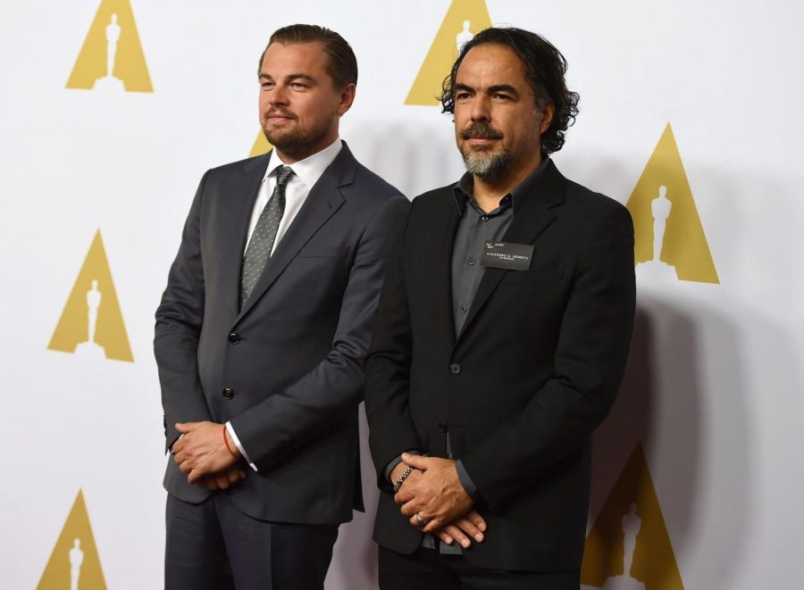 Actor Leonardo DiCaprio (left) and director Alejandro Inarritu arrive at the 88th Academy Awards Nominees Luncheon at The Beverly Hilton hotel Feb. 8 in Beverly Hills, Calif.