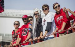 Fans watch as the Huskies beat Ball State 59-41 on Oct. 10, 2015, at Huskie Stadium. The game was one of six games part of the Mission 6 initiative presented by NIU Athletics. The initiative, which made students eligible for free tuition for the spring 2016 semester if they attended and stayed at every home football game, was declared unsuccessful as the goal to have at least 6,000 NIU students at each game was not accomplished.