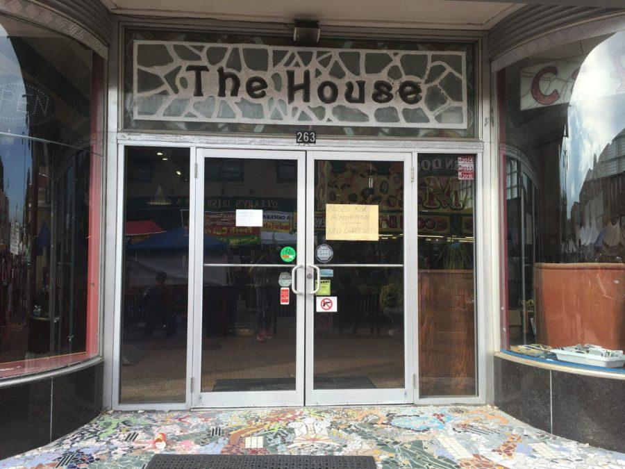Front doors to the House Café.
