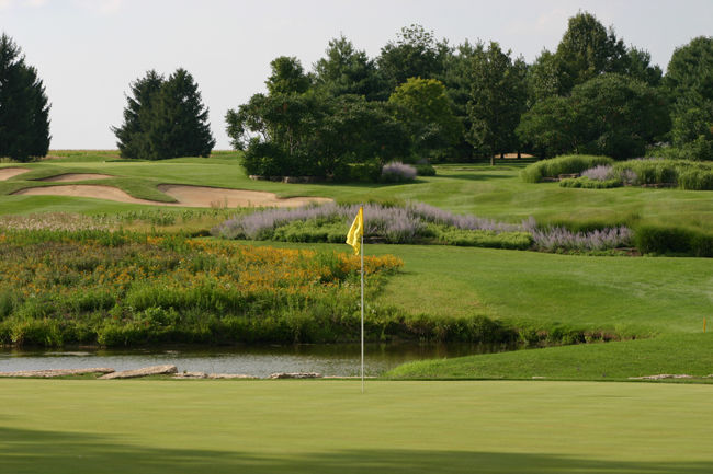 Rich Harvest Farms, 2330 Granart Road in Sugar Grove is home to NIU golf.