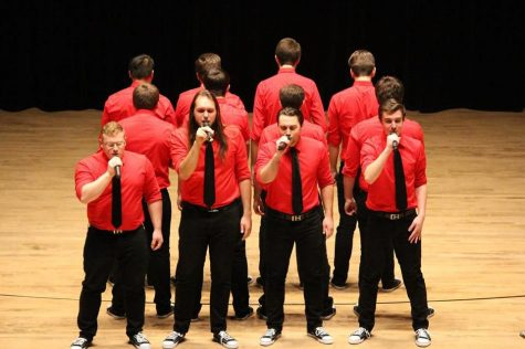 The Huskie Hunks will compete in the ICCA Quarterfinals with hopes of making it to semifinals hosted in downtown Chicago.