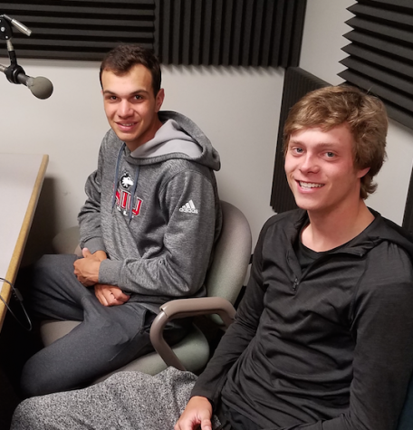 On this episode of Northern Star Press Box, we sit down with Huskie golfers Thomas DeMarco and Matt Cholod. Topics include hockey talk, roommate rundown and the NCAA Golf Tournament.
