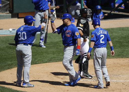 Cubs prepare for World Series repeat