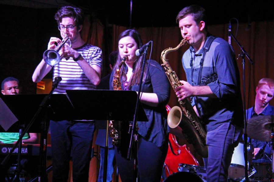 The Jazz Combo Fest put on by the School of Music took place at the House Cafe Tuesday night.