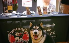 Mission, NIU's live mascot, will retire Saturday during the football game against Wyoming. Mission's replacement