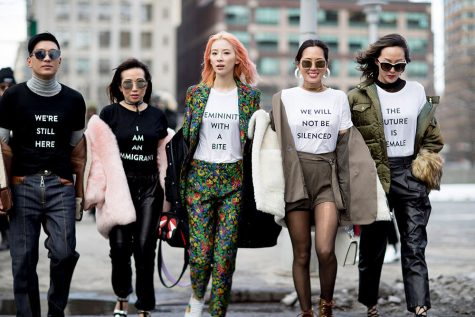 New York Fashion Week hit the streets with a statement of strength and bold choices.
