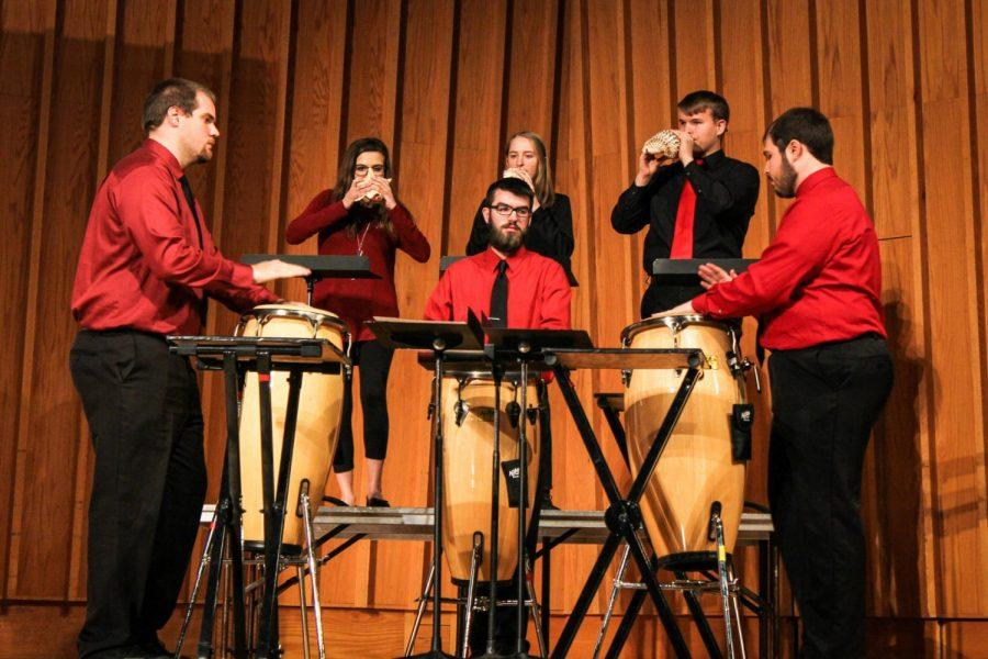 Students from the College of Visual and Performing Arts showcase their talents Monday at the second annual Convocation.