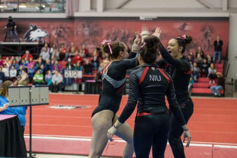 Pair of NIU gymnasts awarded