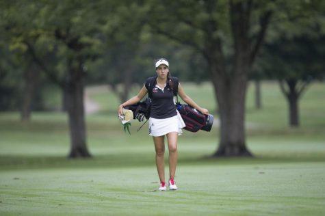 Four Huskie women's golfers honored