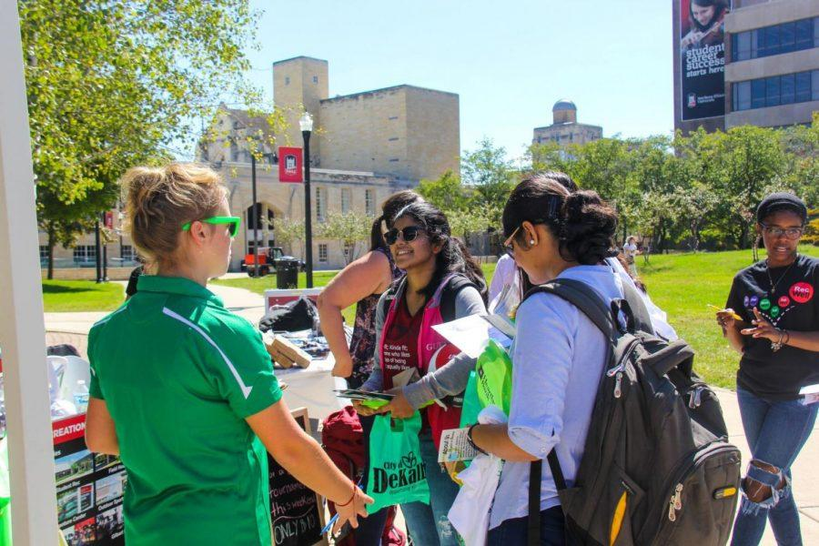Campus meets community vendors and resources