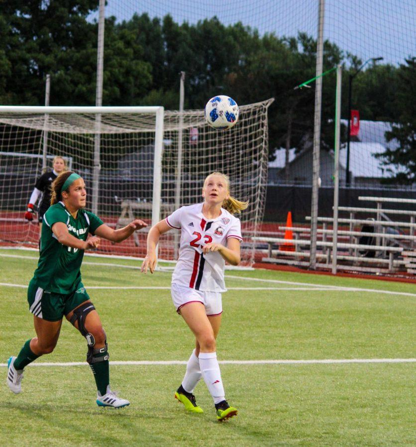 Womens soccer drops two in a row