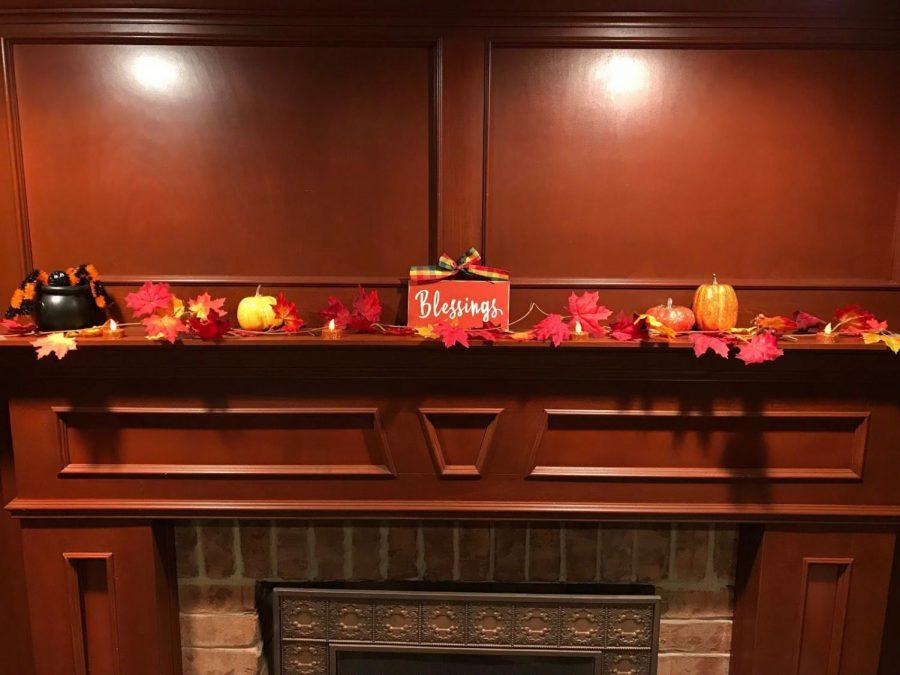 Festive on a Budget: Fall Mantelpieces