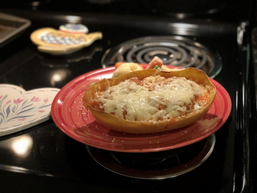 Easy Recipes with Five Ingredients or Less: Twice Baked Spaghetti Squash