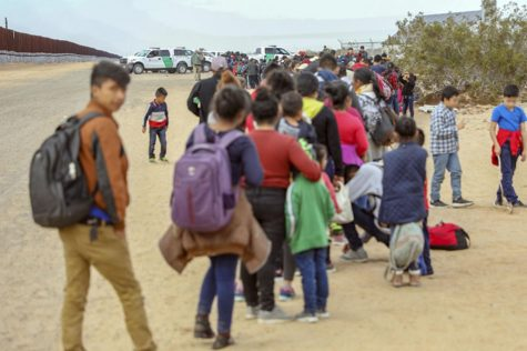 U.S Customs and Border Patrol arrested 376 Central Americans Jan. 14 in southwest Arizona, after they dug underneath barriers to the U.S.