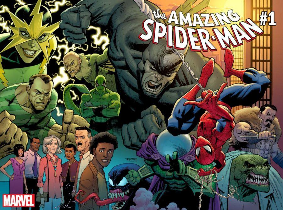 Relaunched+in+July+2018%2C+%22The+Amazing+Spider-Man%22+creates+a+grounded+Spider-Man+with+real+world+issues+much+like+the+Spider-Man+of+the+1960s.