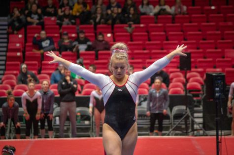 Huskies place third in State Championship Meet
