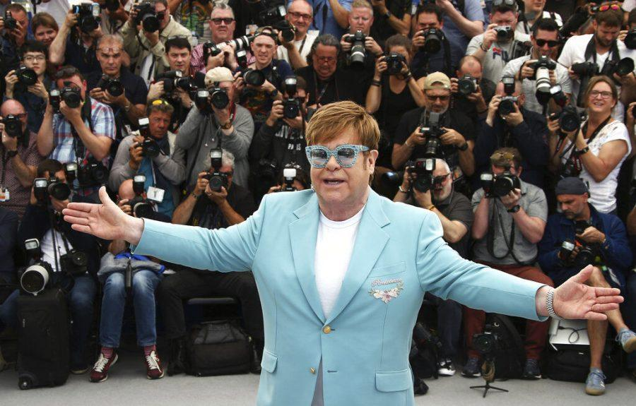 Sir+Elton+John+appears+at+The+Cannes+Film+Festival+on+May+16%2C+2019+for+a+screening+of+the+musical+biopic+%22Rocketman.%22+The+film+is+scheduled+to+be+released+May+31+in+the+United+States.