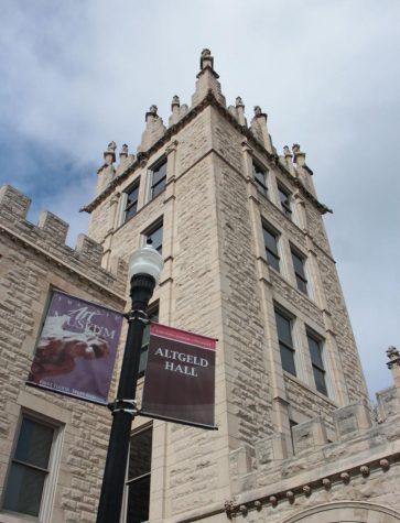 The Board of Trustees approved a constitutional amendment Thursday in Altgeld Hall, room 315.