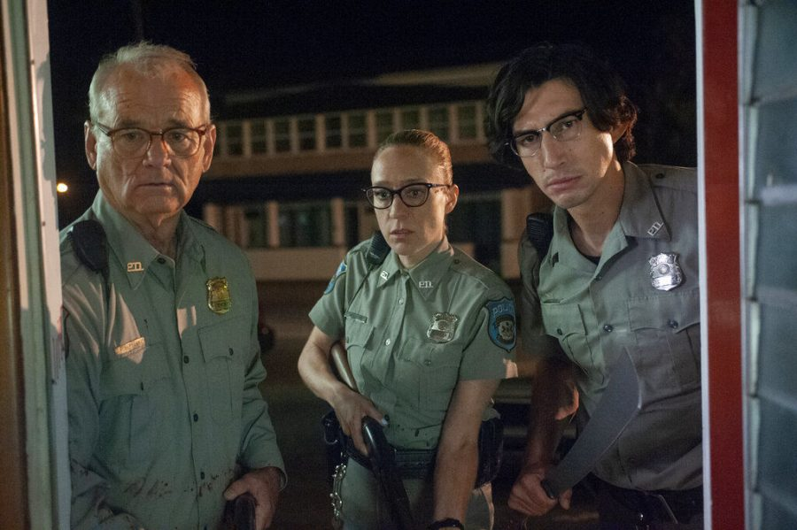 (From left) Bill Murray, Chloë Sevigny and Adam Driver star in