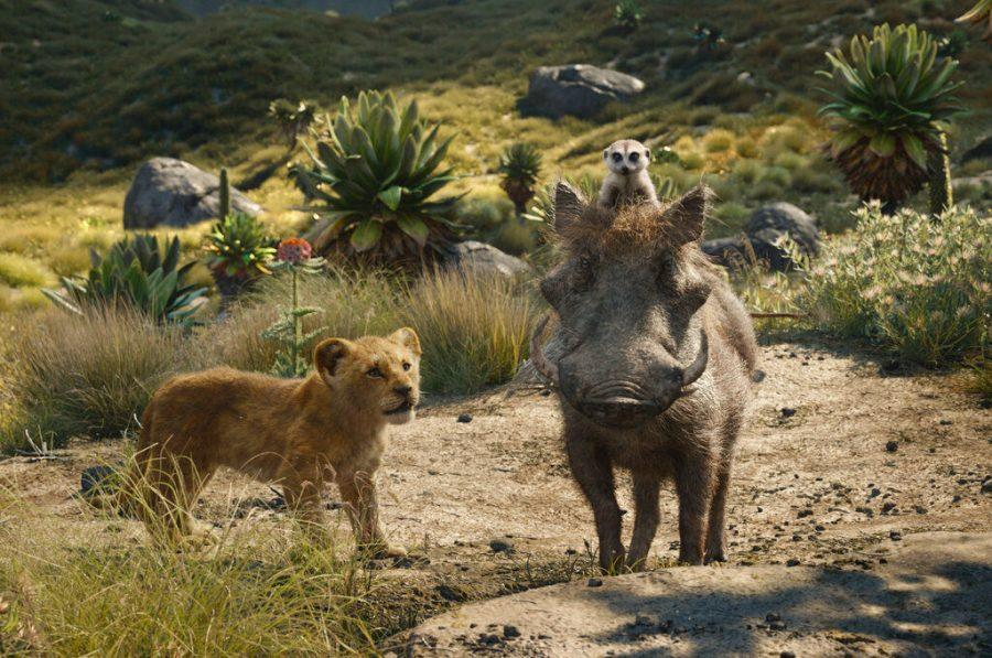%28From+Left%29+Young+Simba%2C+Timon+and+Pumbaa%2C+voiced+by+JD+McCrary%2C%C2%A0Billy+Eichner+and%C2%A0Seth+Rogen%2C+scavenge+for+grubs+across+the+plains+of+Africa+in+%22The+Lion+King.%22