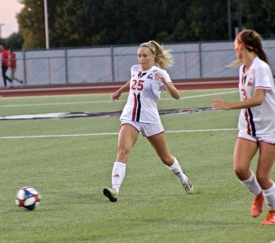Womens soccer loses in-state dual against ISU