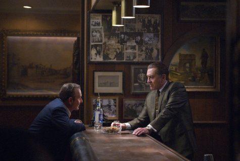 Joe Pesci, left, and Robert De Niro star in the