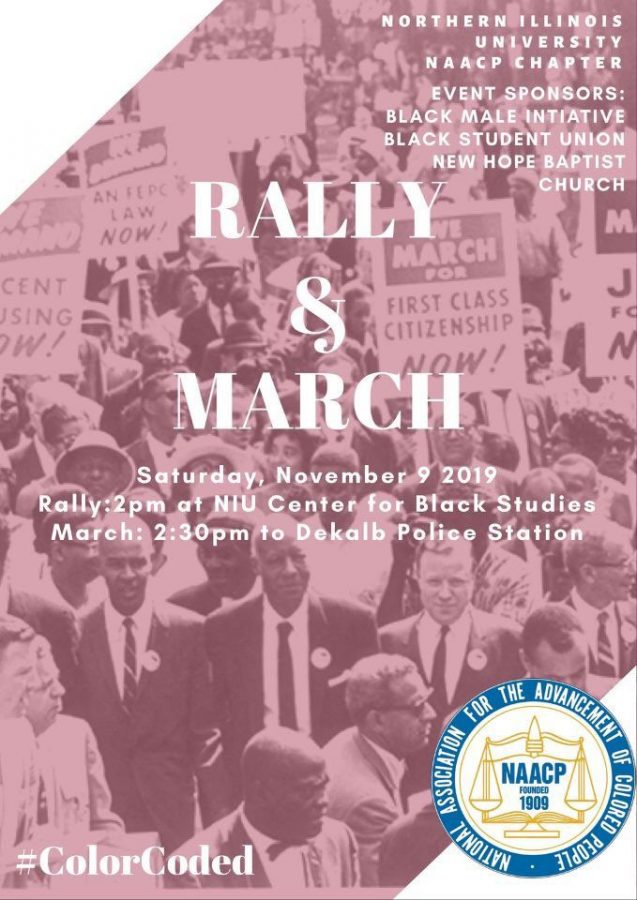NAACP+NIU+to+hold+rally%2C+march+to+protest+police+department