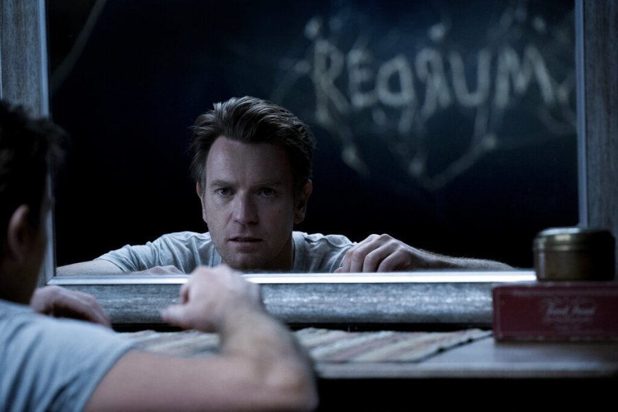 Dan+Torrance%2C+played+by+Ewan+McGregor%2C+sees+the+word+Redrum%2C+or+murder+backwards%2C+in+%22Doctor+Sleep.%22+The+film+is+an+adaptation+of+the+Stephen+King+novel+and+is+a+sequel+to+%22The+Shining.%22