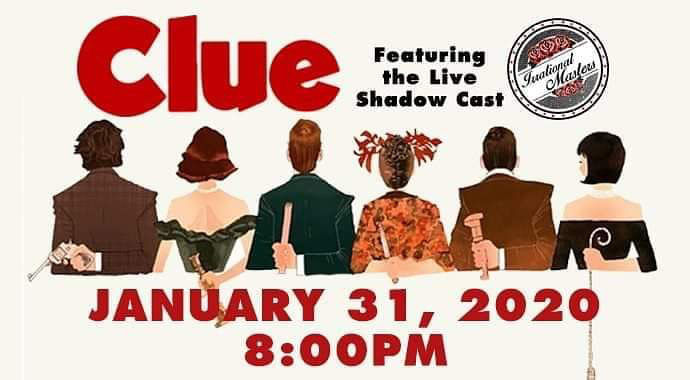 'Clue' comes to the Egyptian Theatre