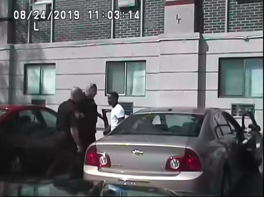 Footage+released+by+DeKalb+Police+Department+Sept.+1+shows+two+officers+instructing+Elonte+McDowell%2C+25%2C+of+Aurora%2C+to+exit+his+vehicle.