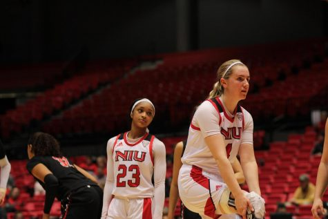 Courtney Woods and Myia Starks shine in their final game at the Convocation Center