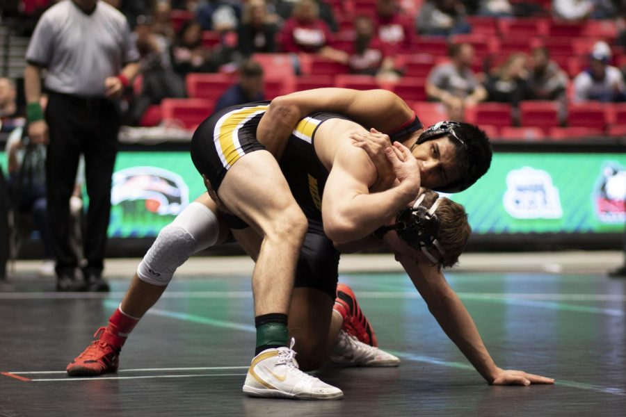 First day of MAC Wrestling Championships see two Huskies move on to the finals