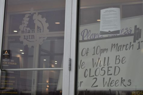 Planet Fitness, 2560 Sycamore Rd, announced Tuesday that it will be closing for two weeks to prevent the spread of COVID-19.